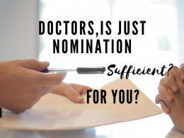 Doctors, Is just Nomination Sufficient for You?