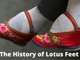 "The History of ""Lotus Feet"""
