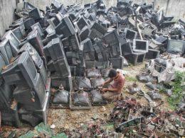 Tsunami of E-Waste Harmful for Children